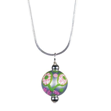 TENNIS, ANYONE? CLASSIC BEAD PENDANT