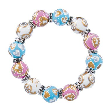 KEY TO MY HEART CLASSIC BRACELET - CLEAR SWAROVSKI CRYSTALS