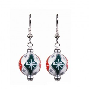 HOLIDAY SWEETS CLASSIC BEAD EARRINGS