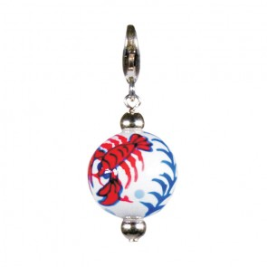 LOVE THAT LOBSTA CHARM - SILVER by Angela Moore