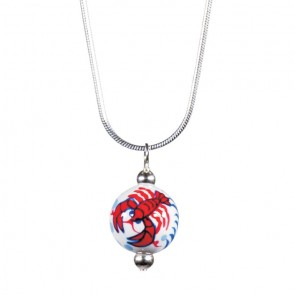 LOVE THAT LOBSTA CLASSIC BEAD PENDANT