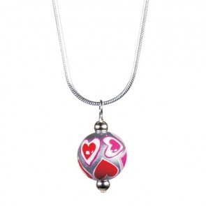 LOVE & KISSES CLASSIC BEAD PENDANT