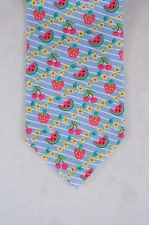 FRESH FRUIT TIE - BLUE
