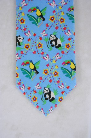 EARTH DAY TIE - BLUE