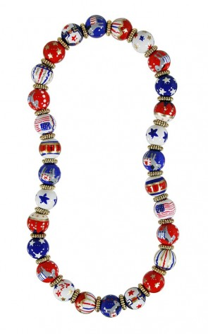 JOIN THE PARTY DEMOCRATIC CLASSIC NECKLACE