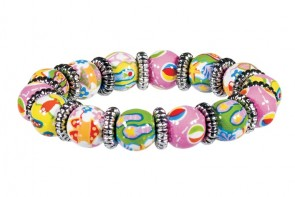FUN FLIPS LITTLE GIRL'S BRACELET - SILVER by Angela Moore