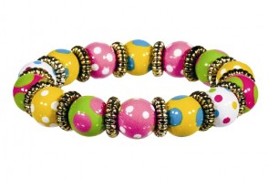DOTTY DELIGHT LITTLE GIRL'S BRACELET - GOLD by Angela Moore