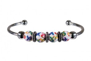 AUTISM AWARENESS BANGLE by Angela Moore