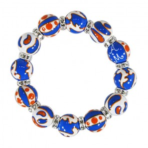 ORANGE/BLUE CLASSIC BRACELET
