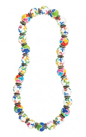 AUTISM AWARENESS CLASSIC NECKLACE