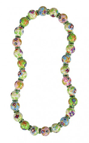 GOLDEN PANSIES CLASSIC NECKLACE