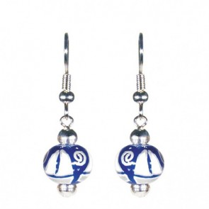SAIL AWAY CLASSIC BEAD EARRINGS - SILVER