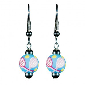 TENNIS TALES PETITE BEAD EARRINGS