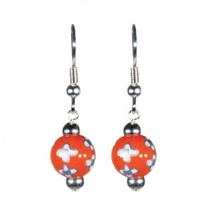 DESERT BLOOM SPICE PETITE BEAD EARRINGS