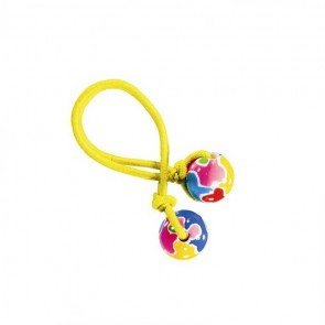 AUTISM AWARENESS HAIR TIE - YELLOW ELASTIC by Angela Moore