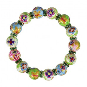GOLDEN PANSIES RELAXED FIT BRACELET