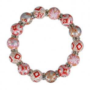 SUNSET SHIMMER RELAXED FIT BRACELET - CLEAR SWAROVSKI CRYSTALS