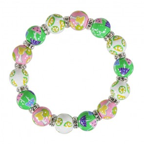 MARGARITA MAMBO RELAXED FIT BRACELET - CLEAR SWAROVSKI CRYSTALS