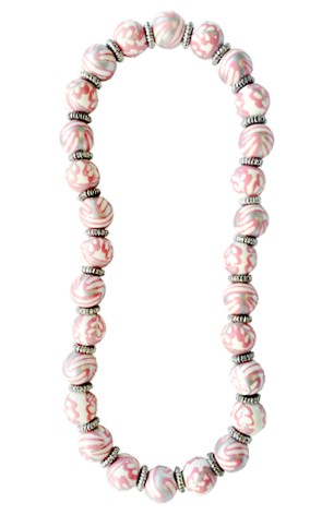MOONSTRUCK CLASSIC BEAD NECKLACE W/SILVER
