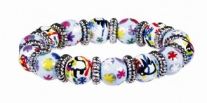 POLAR PENGUINS LITTLE GIRLS BRACELET W/SILVER