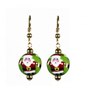 SANTA'S SURPRISE CLASSIC BEAD EARRINGS