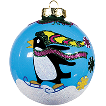 Angela Moore Holiday Ornaments