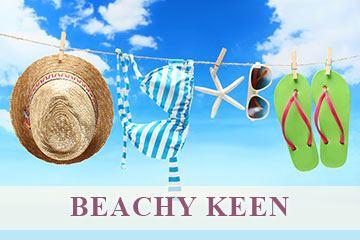 Beachy Keen Angela Moore Hand Painted Jewelry Collection