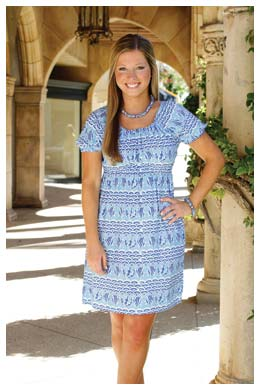 Jill Dress Angela Moore